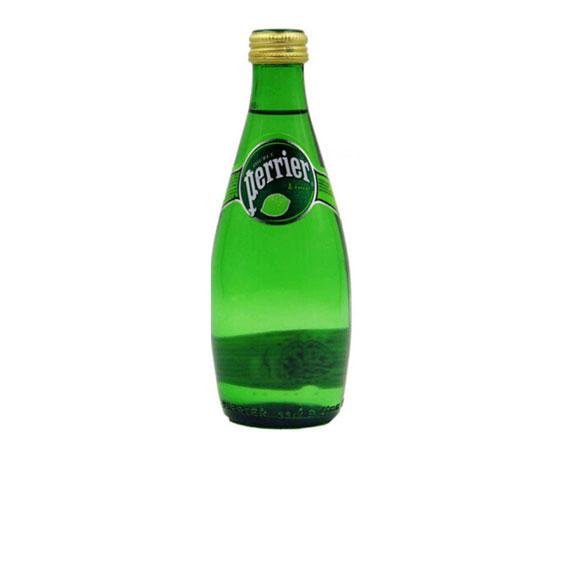 Perrier法国【巴黎】 含气青柠味天然矿泉水 (330mL*24)