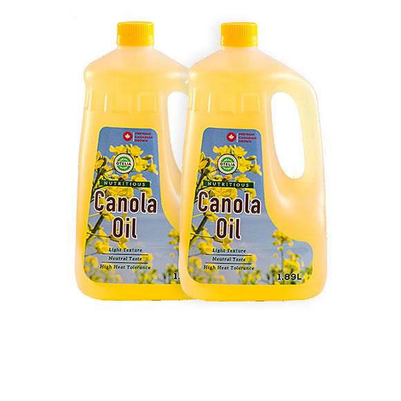 奥黛莉芥花籽油1.89L*2