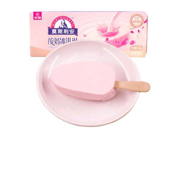 莫斯利安酸奶冰淇淋(玫瑰花味)