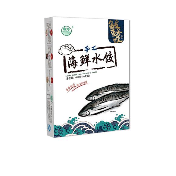 手工海鲜水饺(鲅鱼口味)