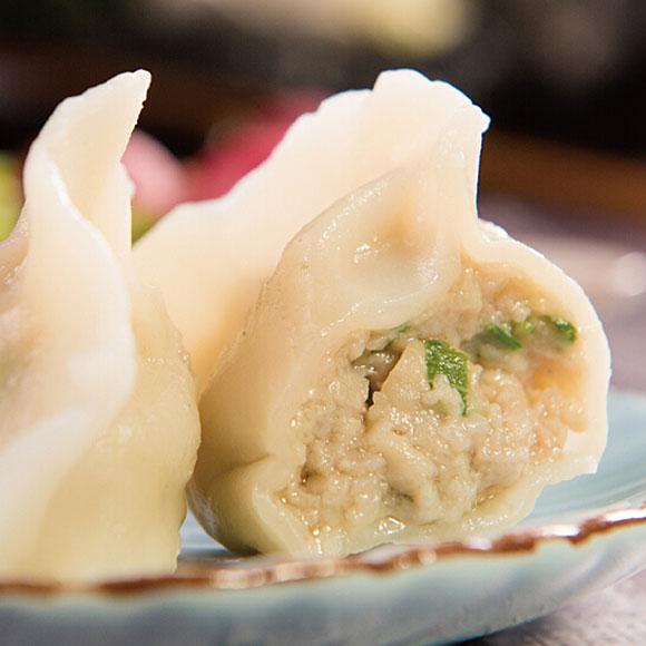 海鲜微波水饺(黄花鱼口味)