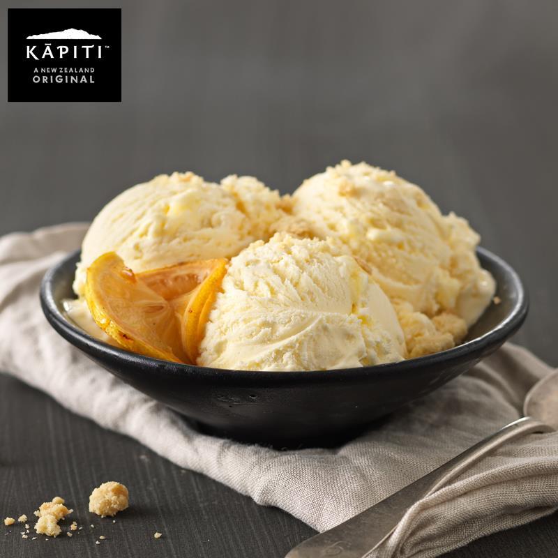 凯蓓蒂柠檬小蛋糕冰淇淋