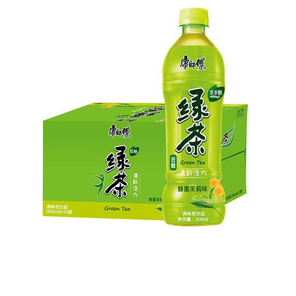 康师傅蜂蜜绿茶