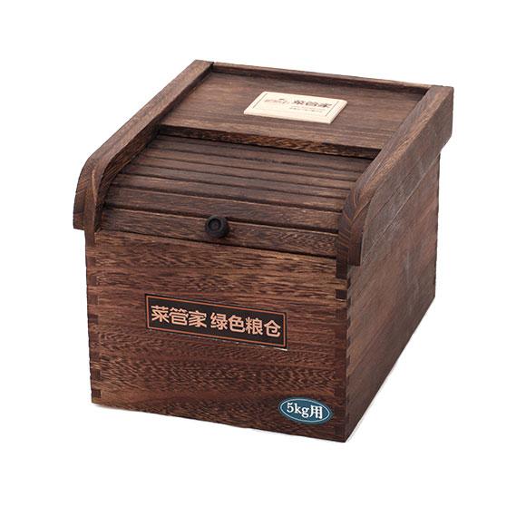 菜管家桐木防蛀米箱