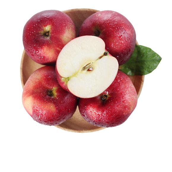 华圣 红富士苹果 12个组合装 一级铂金果 2.1kg 单果约160-240g 新鲜水果