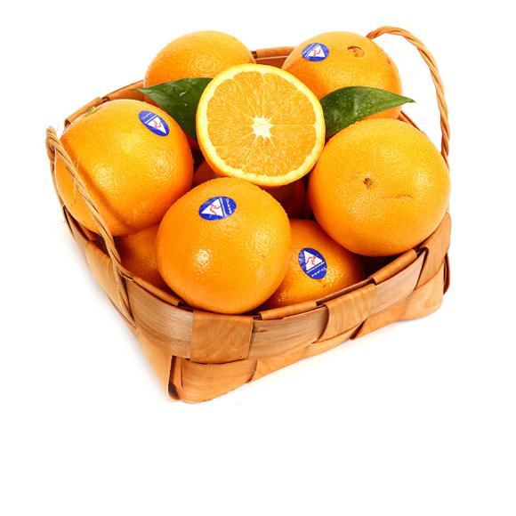 澳大利亚进口鲜橙 澳橙6粒装 单果重约130g-180g 新鲜水果