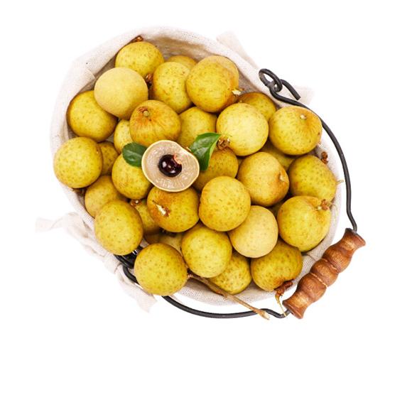 展卉 泰国进口龙眼 1kg装 新鲜水果