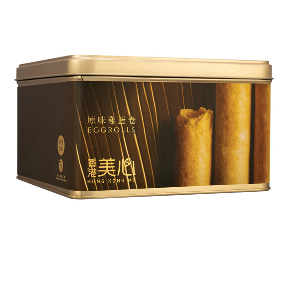 中国香港  美心(Meixin) 原味鸡蛋卷礼盒  团购大礼包福利送礼品 448g