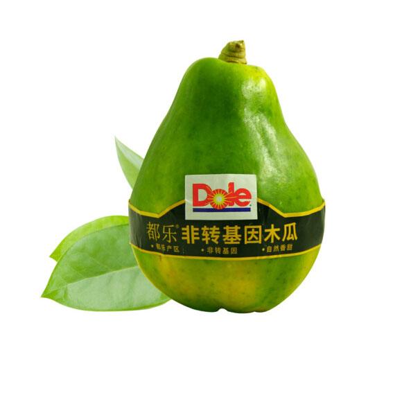 都乐Dole 菲律宾进口非转基因木瓜 4只装 单果重约410g 新鲜水果
