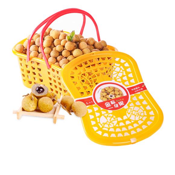 展卉 泰國進口龍眼 精選一級果 2.5kg禮籃裝 新鮮水果禮籃