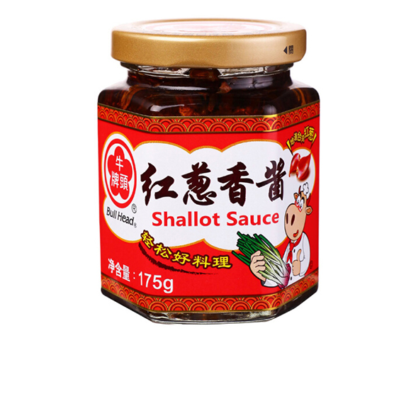 中国台湾 牛头牌 红葱香酱175g