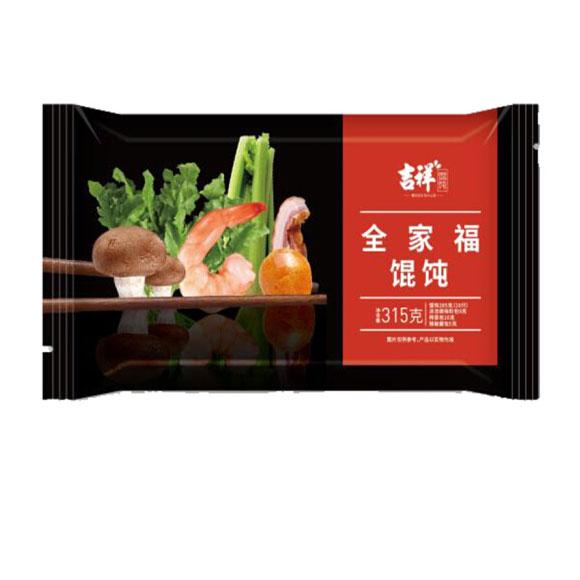 吉祥全家福大馄饨315g(10只装 早餐 云吞 水饺饺子)