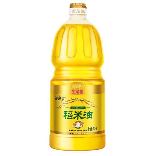 金龙鱼 食用油 双一万 谷维多 稻米油1.8L