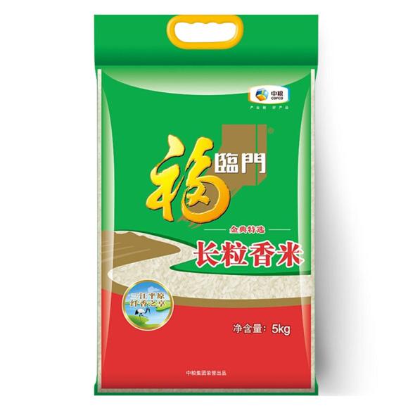 福臨門 東北大米 金典特選長粒香 中糧出品 5kg