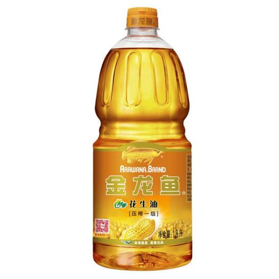 金龍魚食用油 壓榨一級特香花生油1.8L