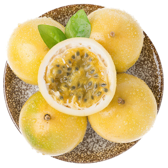 黄金百香果 精选中果 6个装 单果约50-80g 新鲜水果