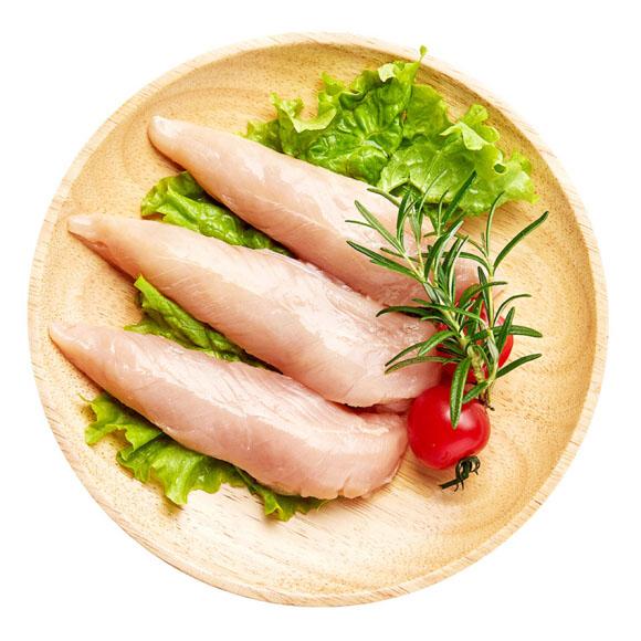 正大(CP)鸡小胸 1kg 鸡胸肉 健身鸡胸肉鸡里脊低脂代餐健身食品烧烤火锅食材