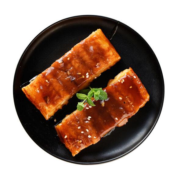美加佳 冷冻蒲烧星鳗鱼段 200g 出口日本 加热即食 鳗鱼饭 国产海鲜