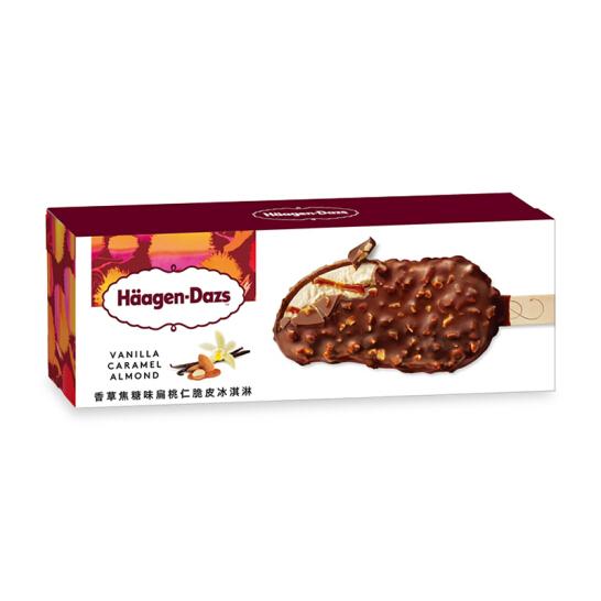 哈根达斯 香草焦糖扁桃仁口味 脆皮冰淇淋 69g