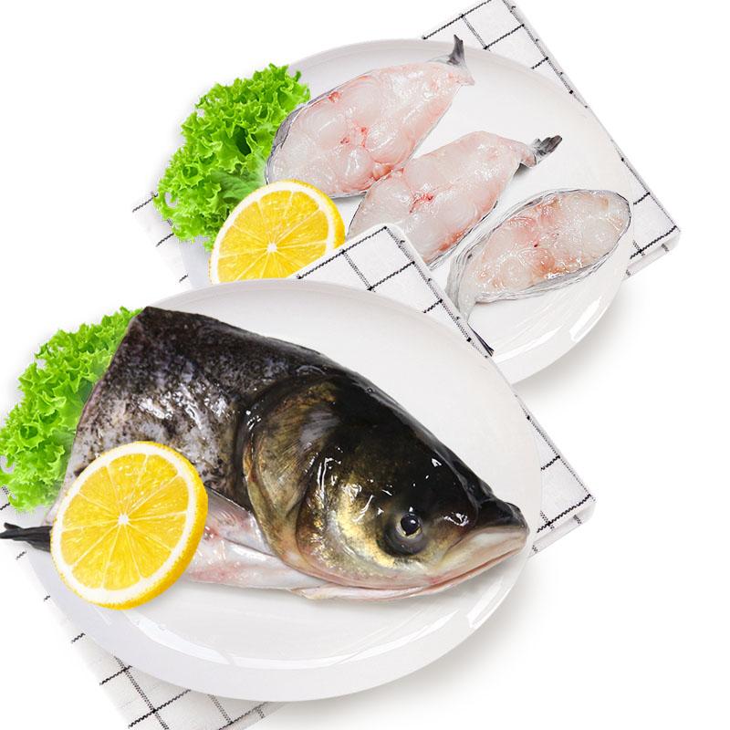光明渔业花鲢头 (冰鲜)+鮰鱼块(冰鲜)