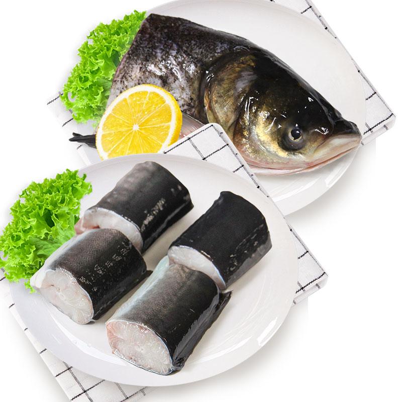 光明渔业花鲢头 (冰鲜)+河鳗段(冰鲜)