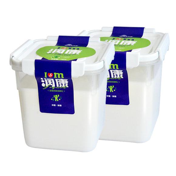 天润润康方桶酸奶