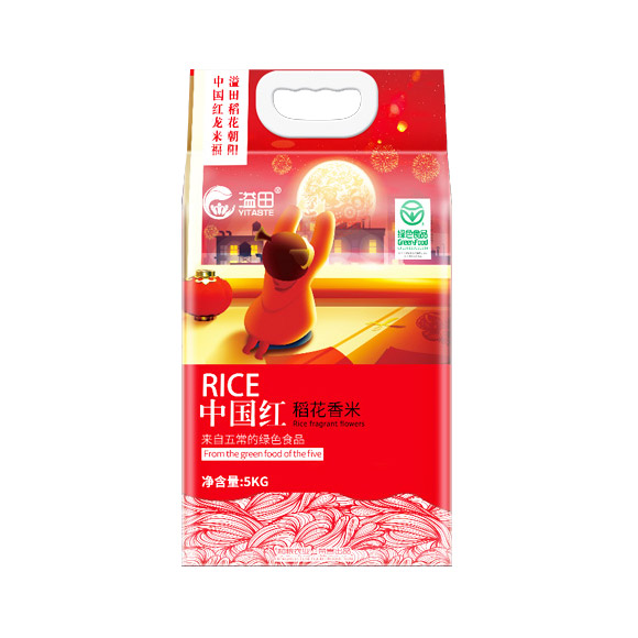 中國紅稻花香米