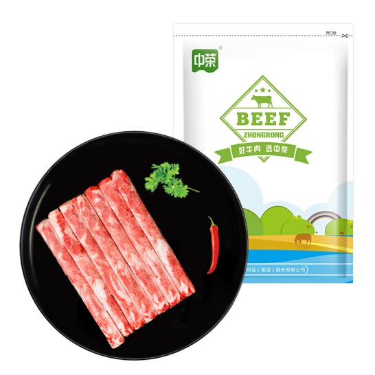 中榮 澳洲安格斯肥牛肉卷/肉片 400g 進口牛肉 火鍋食材 生鮮