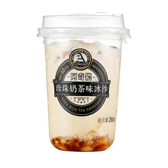阿奇儂 ACHINO (中國)臺灣進口珍珠奶茶味冰沙 冰凍飲品 290g/杯  冰淇淋雪糕冰奶茶