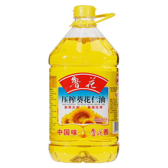 鲁花压榨葵花仁油 5L