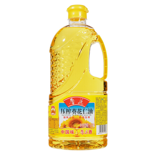鲁花压榨葵花仁油1.6L