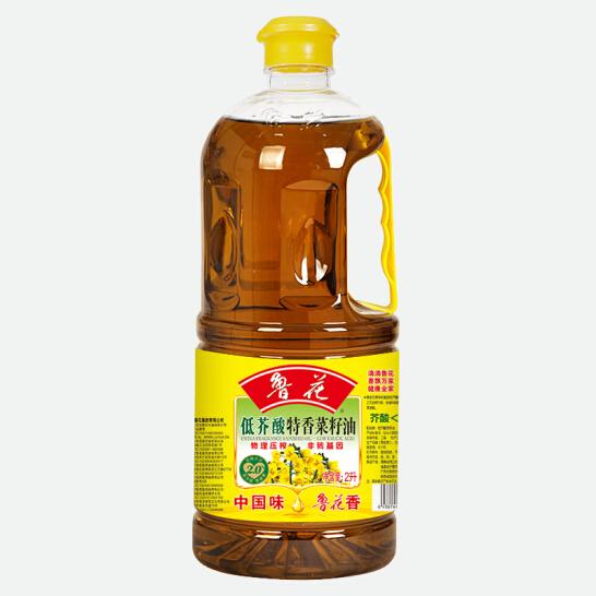 鲁花低芥酸特香菜籽油 2L