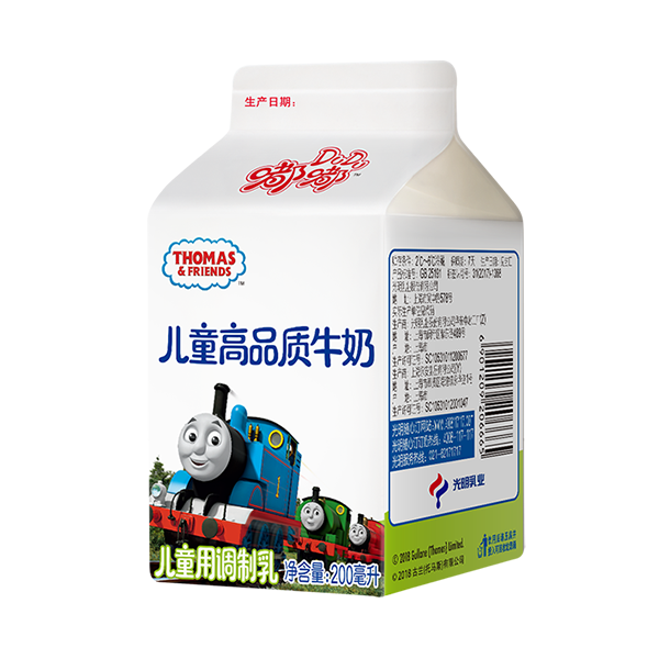 菜管家随心订 嘟嘟儿童高品质牛奶200ml