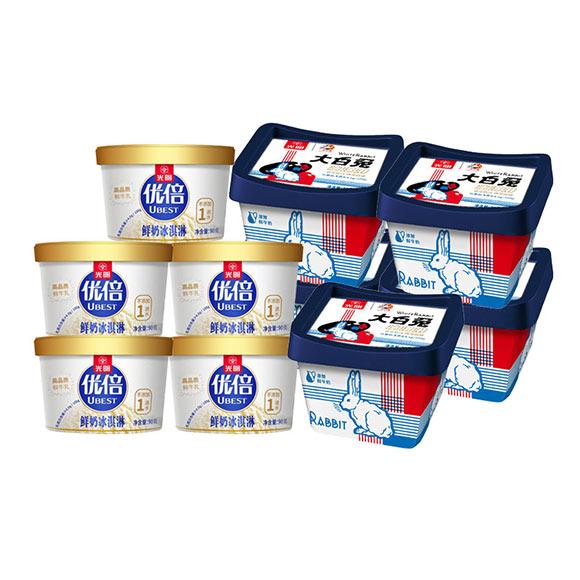 光明冰淇淋组合F套