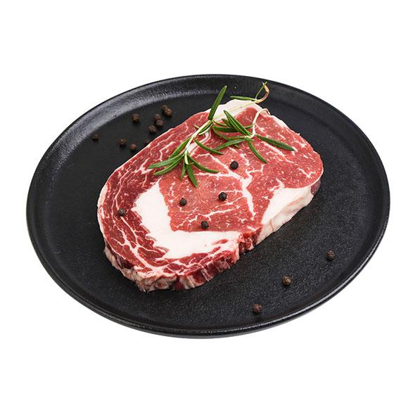 集成优选澳洲安格斯谷饲150天眼肉牛排