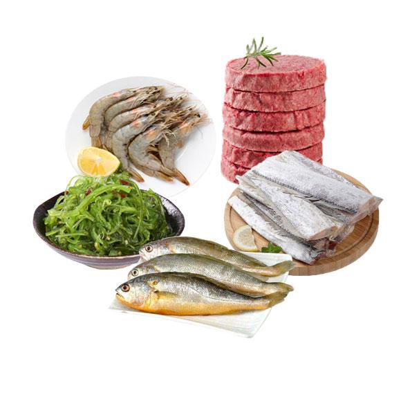 海鮮牛肉套餐組合A