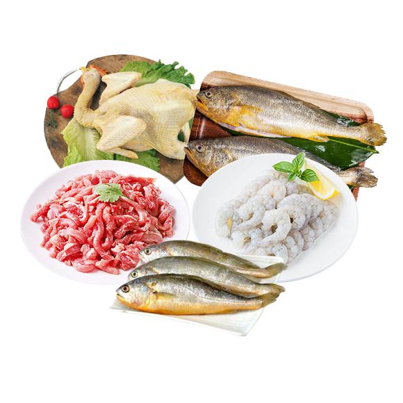 海鮮牛肉套餐組合C