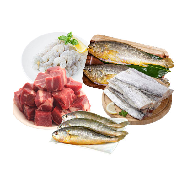 海鮮牛肉套餐組合B