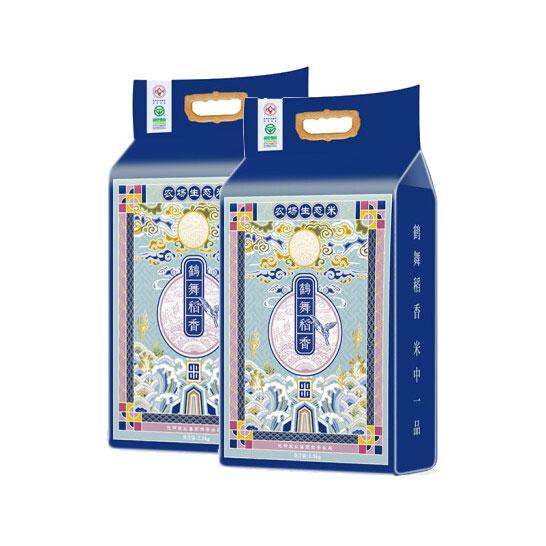 鹤舞稻香生态米(2包装)