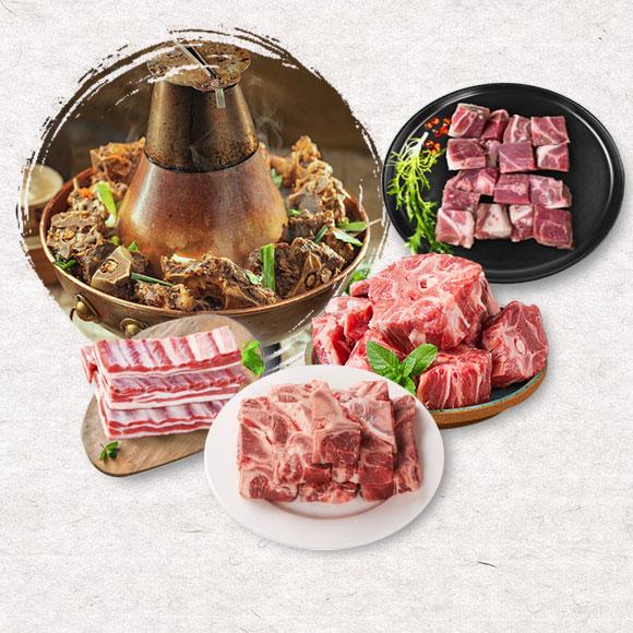 亿道-内蒙古生态散养牛羊肉套餐468型