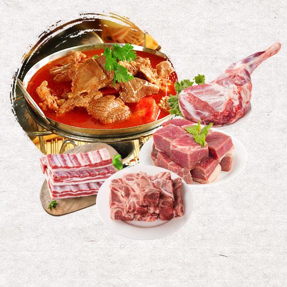亿道-内蒙古生态散养牛羊肉套餐588型