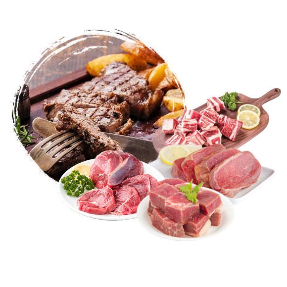 新疆阿勒泰牛肉组合(400型)