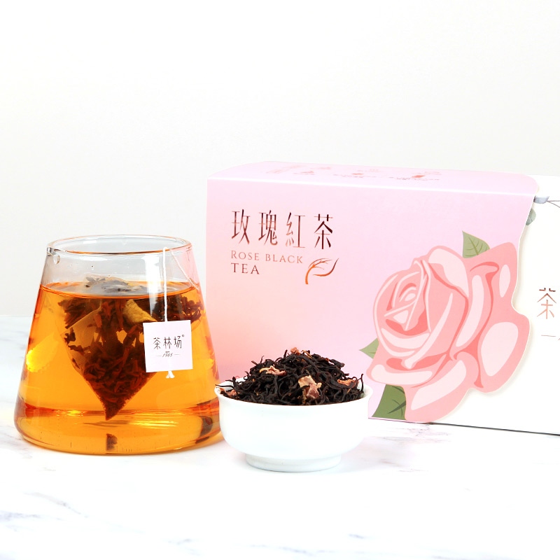 玫瑰红茶套盒