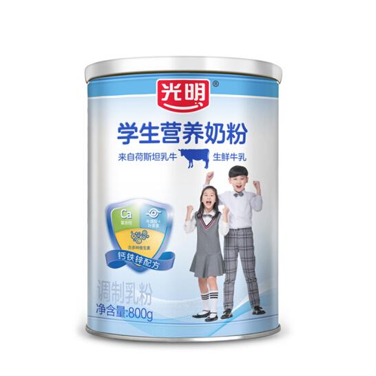 光明学生营养奶粉调制乳粉(罐装)