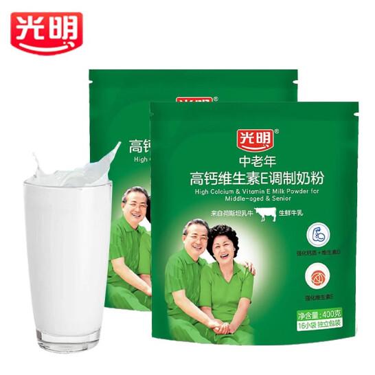 光明高钙维生素E中老年奶粉(袋装)