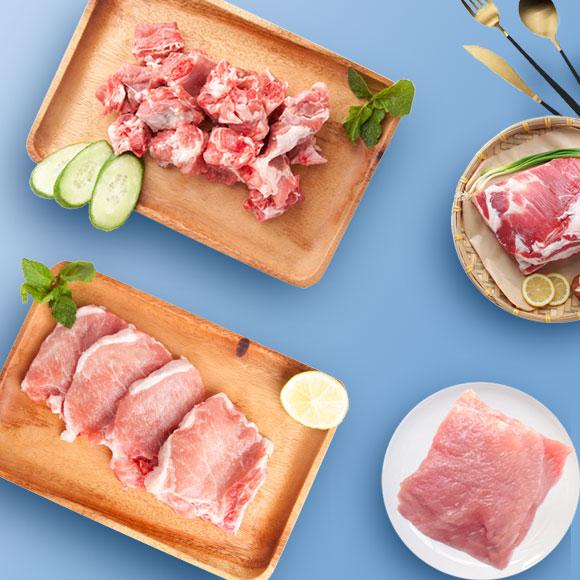阜宁黑猪肉优享装H2000g(B套)