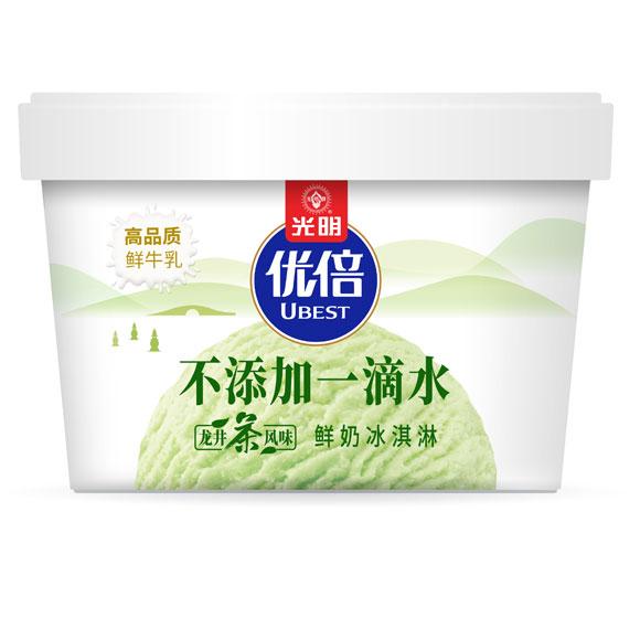 优倍牛奶冰淇淋(龙井茶风味)