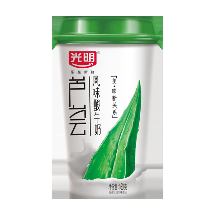 芦荟风味酸牛奶160g