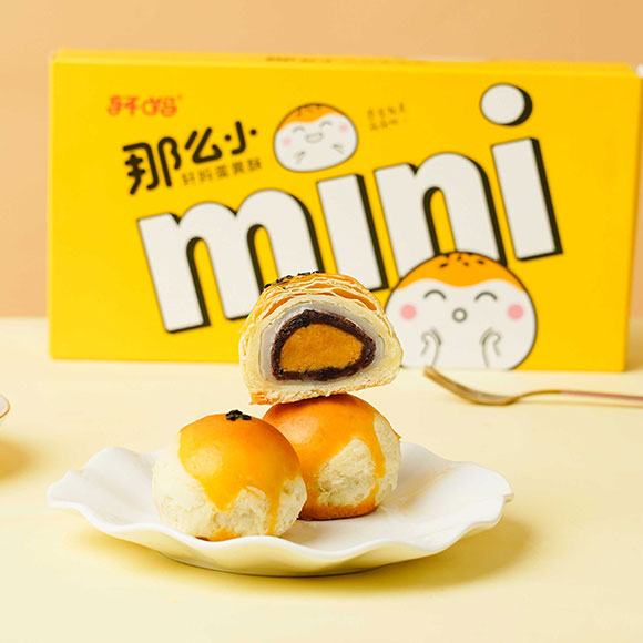 轩妈蛋黄酥迷你酥*3