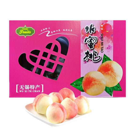 无锡水蜜桃精品6个装
